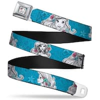 Ariel Sketch2 Pose Full Color Blue Ariel Poses Shells Sketch Blue White Seatbelt Belt