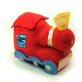 Beverly Hills Teddy Bear Company Stuffed Train with Sounds