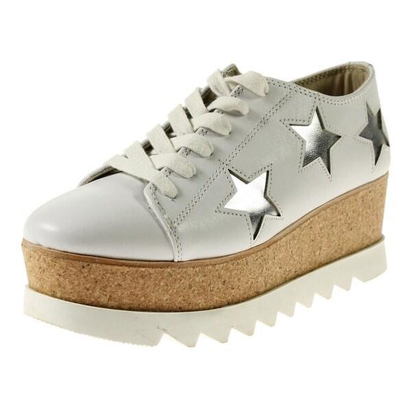 b4b88dad4cd Shop Steve Madden Womens Korries Fashion Sneakers Leather Platform ...