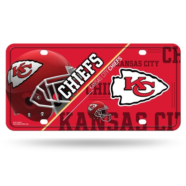 Kansas City Chiefs License Plate Metal. Opens flyout.