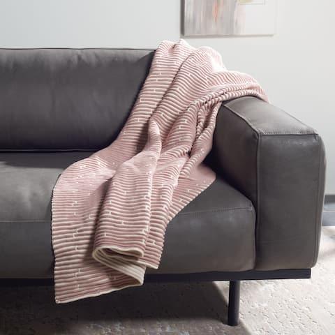 SAFAVIEH Coraline 50 x 60-inch Throw Blanket