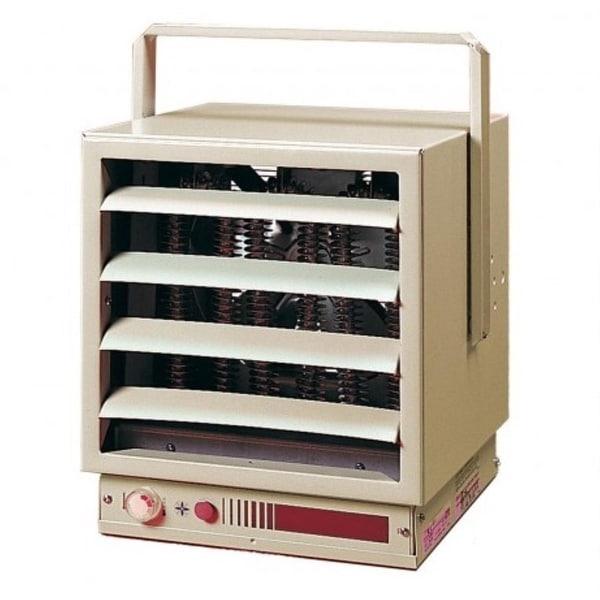 Dimplex EUH10B34CT Small Garage Unit Heater 10/7.5kw 240/208V - almond