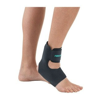 AirHeel Arch and Heel Foot Support Soft Brace - Plantar Fasciitis and Achilles Tendonitis Relief - Medium