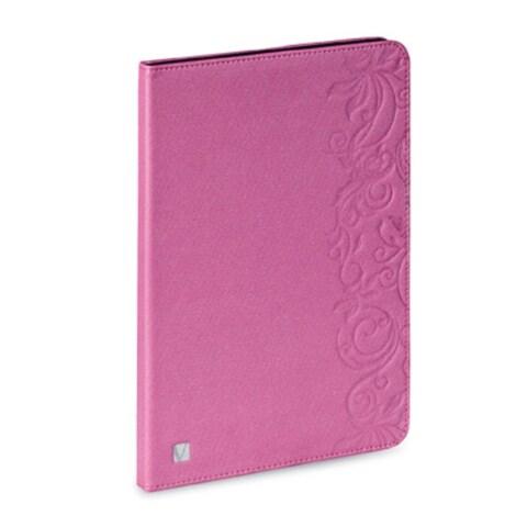 Verbatim Folio Expression Case for iPad Air, 98528, Floral Pink