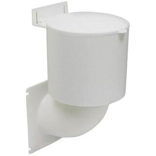 "Lambro 289W Ultra Seal Dryer Vent Hood, 4"", White"