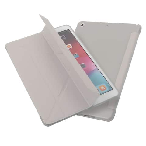 """For Apple iPad 10.2"""" (2019) Gray Skin Case Cover"""