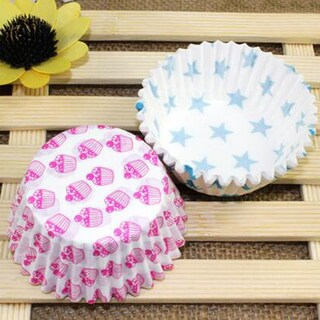 Paper Pallet Heat-resistant Oilproof Paper Cup Cupcake Container small size