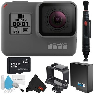 GoPro HERO Waterproof Action Camera Bundle (Newest 2018 Model)