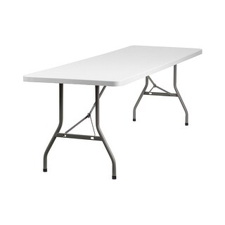 Offex 30''W x 96''L Plastic Folding Table [OF-RB-3096-GG]