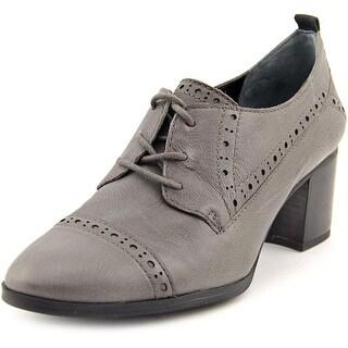 Franco Sarto Alberta Women Grey Oxfords