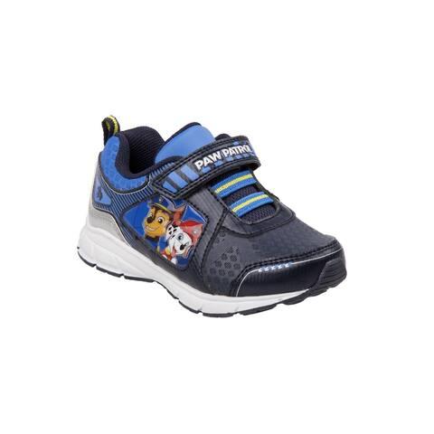 Nickelodeon Little Boys Navy Paw Patrol Detail Sneakers - 8