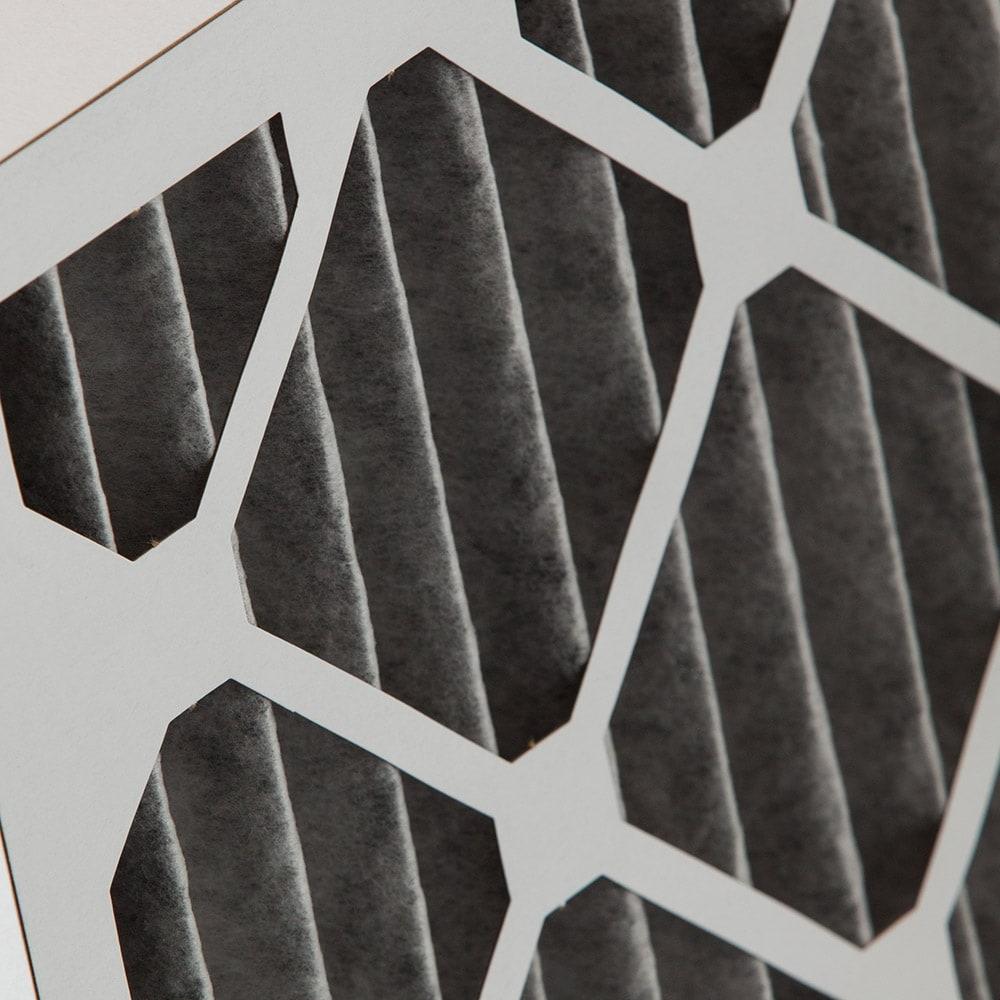 Qty 3 Nordic Pure 20x25x2 MERV 7 Plus Carbon AC Furnace Air Filters