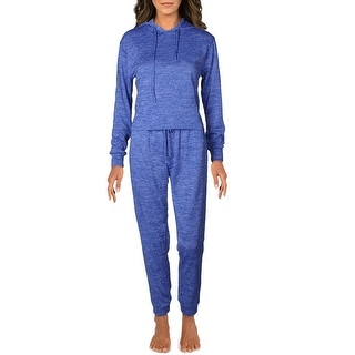 Link to Catherine Malandrino Women's 2 Piece Printed Hoody and Pants Loungewear Set Similar Items in Suits & Suit Separates