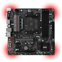 MSI Motherboard B350M MORTAR AMD B350 Chipset AM4 DDR4 Memory 1 x PCI Express 3.0 x 16 Micro ATX  Retail