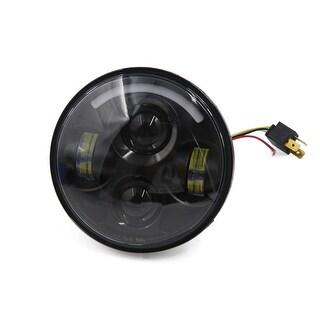 "Unique Bargains 5-3/4"" 40W Round Projector Headlamp Hi/Lo LED Headlight for Harley-Davidson"