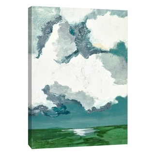 """PTM Images 9-108612  PTM Canvas Collection 10"""" x 8"""" - """"Midnoon Countrysides 1"""" Giclee Rural Art Print on Canvas"""