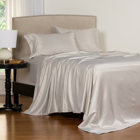 Copper Grove Clifton Luxury Satin Bed Sheet Set