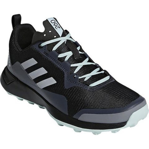 adidas Women's Terrex CMTK Trail Shoe Black/Chalk White/Ash Green
