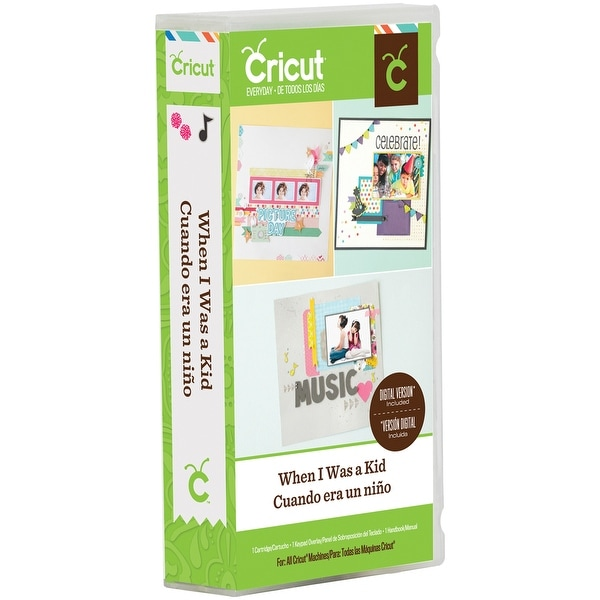 Cricut Shape Cartridge-When I Was A Kid