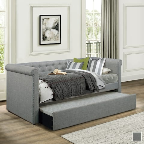 Yara Upholstered Daybed with Trundle
