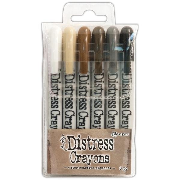 Tim Holtz Distress Crayon Set-Set #3