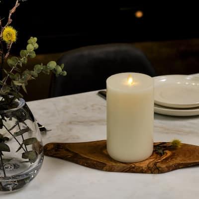 "LightLi Wick to Flame 7"" Pillar Flameless Candle"