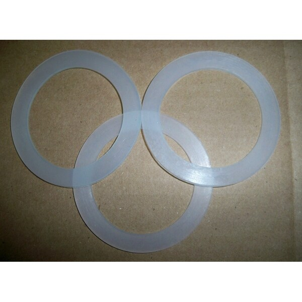Blendin Premium Silicone Rubber Gasket O Ring Seal Gasket For Oster Blender, 3 Pack