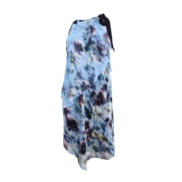 Rachel Rachel Roy Women's Printed Chiffon Midi Halter Dress - Multi Combo