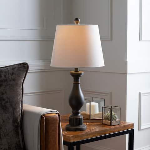 "Lucele Oil Rubbed Bronze 24-inch Table Lamp - 24""H x 12""W x 12""D"