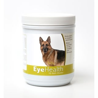 Healthy Breeds German Shepherd Dog Eye Care Support Soft Chews 75 Count