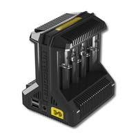 NITECORE I8 Intellicharger 8-slot Universal Battery Charger - Black