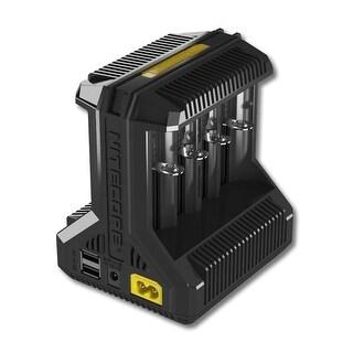 NITECORE I8 Intellicharger 8-slot Universal Battery Charger - Black