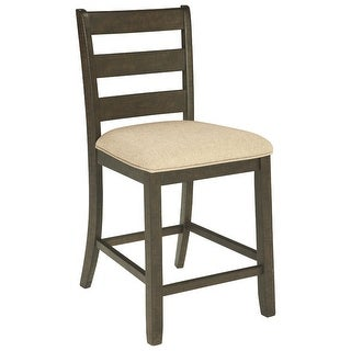 Ashley Furniture Counter Height Upholstered Barstool (2 Pack)