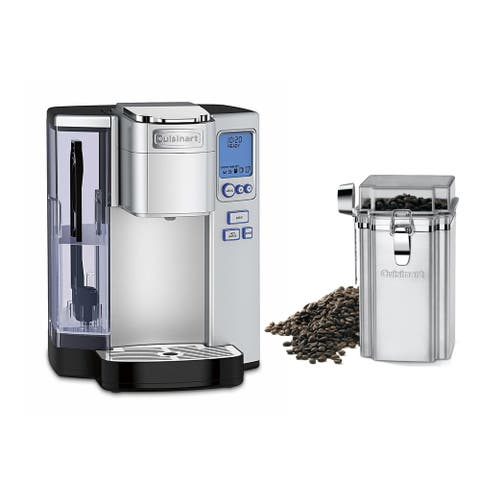 Cuisinart SS-10 Premium Single-Serve Coffeemaker (Silver) w/ Canister