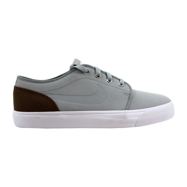 lowest price 22d8f e002f Nike Toki Low Leather Premium Base Grey Base Grey-Military Brown 599452-020
