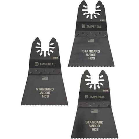"Imperial Blades 3Pk 2-1/2""Fst Wood Blade IBOA250-3 Unit: EACH"