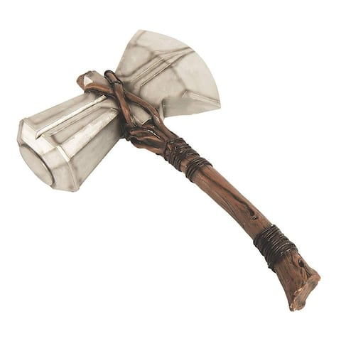 Marvel Avengers Infinity War Stormbreaker Thor Hammer Costume Accessory - Brown
