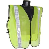 """Radians SVG2 Non Rated Safety Vest With 2"""" Tape, Hi-Viz Green"""