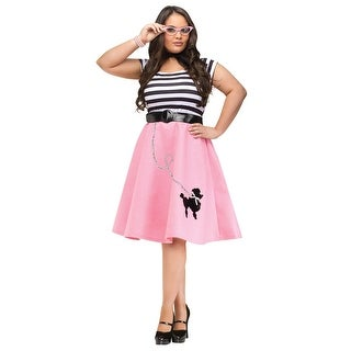 Plus Size Poodle Skirt Dress