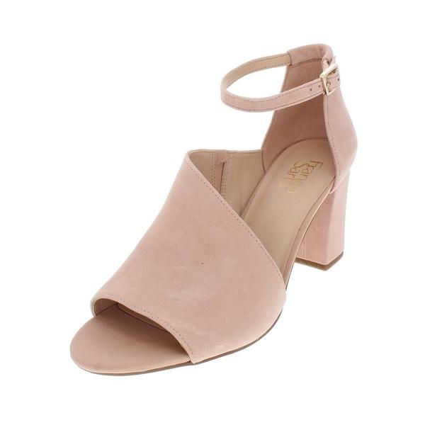 c329827a0 Shop Franco Sarto Womens Gayle Dress Sandals Suede Block Heel - Free ...
