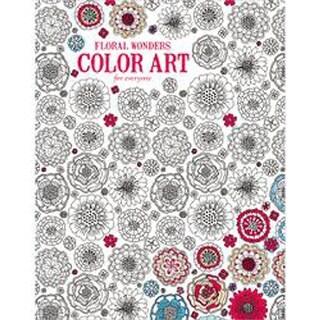 Leisure Arts-Floral Wonders Color Art