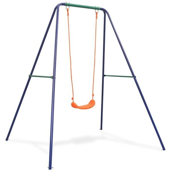 vidaXL Single Swing Orange. Opens flyout.