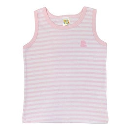 Pulla Bulla Toddler Stripe Tank Top for Ages 1-3 Years Old