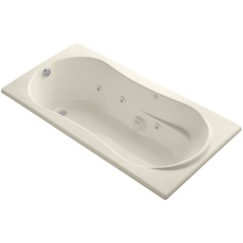 """Kohler K-1157-H Proflex Collection 72"""" Drop In Jetted Whirlpool Bath"""