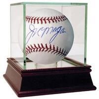 Joe Morgan signed Official Rawlings Major League Baseball w Steiner Glass Case  Steiner Hologram Ci