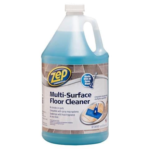 Zep Commercial ZUMSF128 Multi-Surface Floor Cleaner, 128 Oz