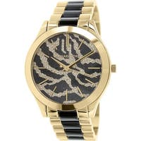 Michael Kors Women's Runway MK3315 Two-Tone Stainless-Steel Plated Fashion Watch