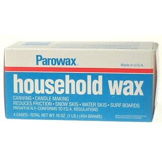 Urm Stores 24785-8 16oz. Household Wax with 4 Wax Cakes per Box