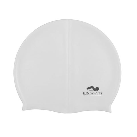 Unique Bargains Silicone swimming Hat Hair Protector Swim Cap for Long Hair Women Men