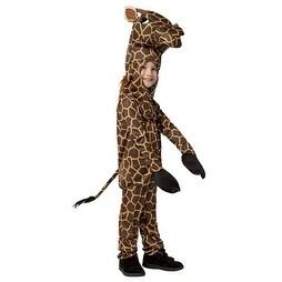 Toddler Giraffe Animal Halloween Costume - 3t-4t